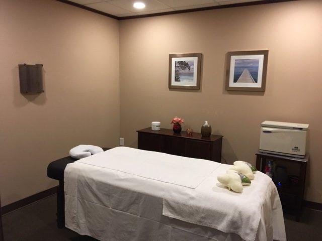 Massage Table - Haddon Towne Spa