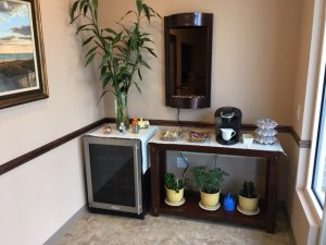 Coffee Station at Haddon Towne Spa