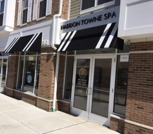 Haddon Towne Spa Entrance - Haddon Township NJ